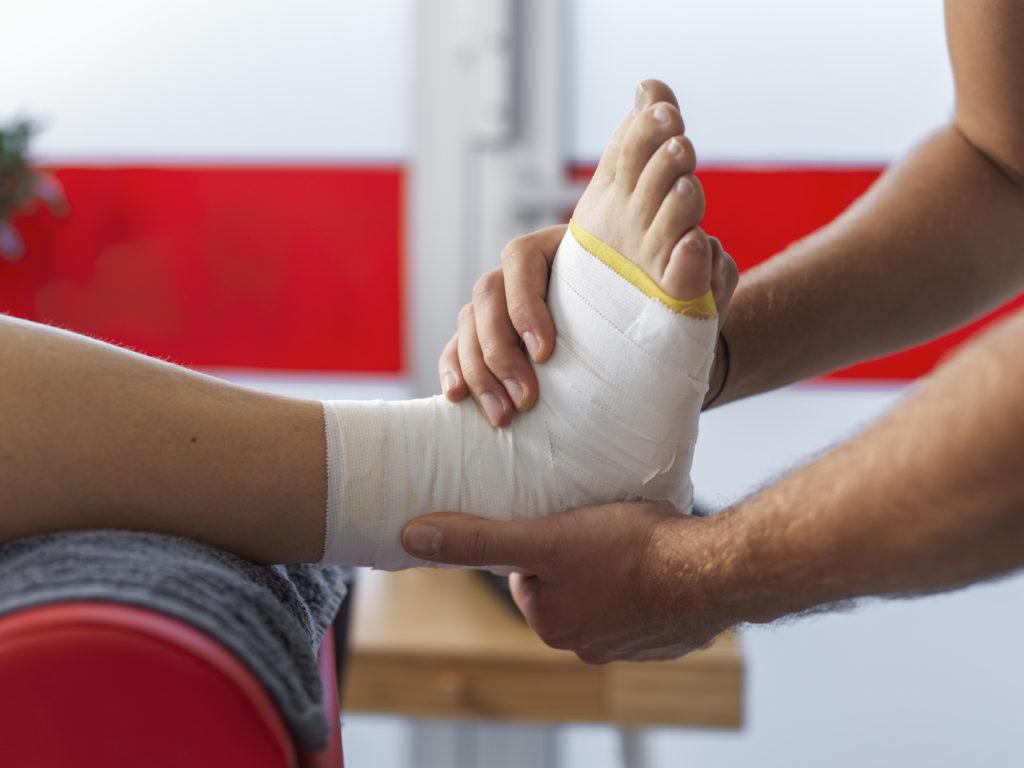 Sprunggelenk Physiotherapie